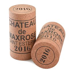 Giant Wine Cork - 'MaxRose 2017' artwork