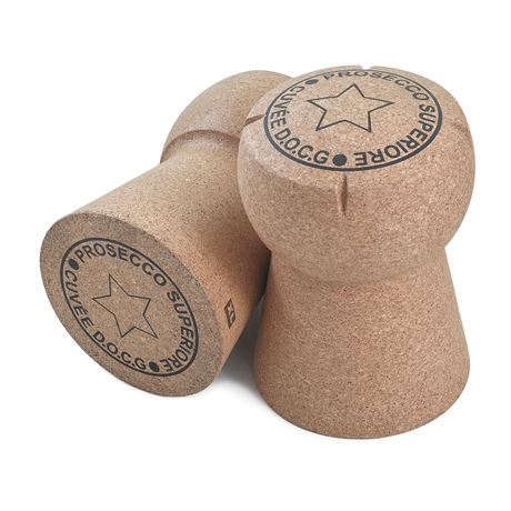 Giant Prosecco Cork Stool - 'Prosecco Superiore Cuvee D.O.C.G' artwork