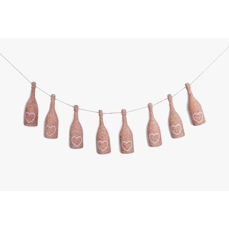Bubbly Bunting - White Heart design 50% OFF SOLD OUT