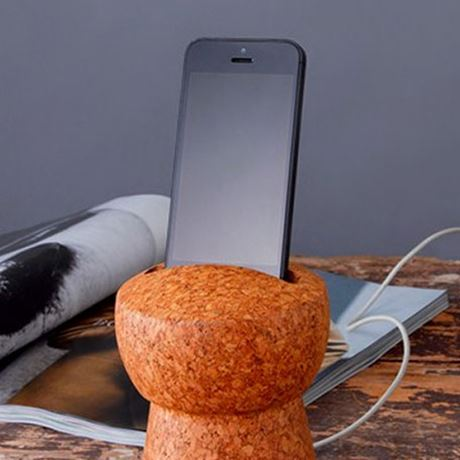 Giant Champagne Cork Docking Station