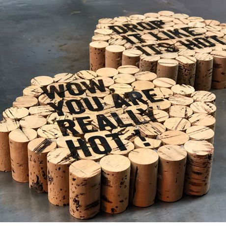 NEW Wine Cork Trivet - WOW, YOU ARE REALLY HOT!