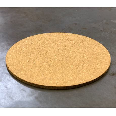 quality unprinted cork coasters