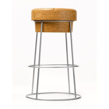 XL Bar Stool - Silver