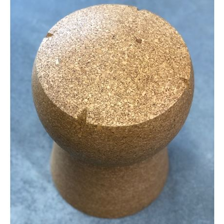 Giant Champagne Cork Stool Unprinted - Brand New