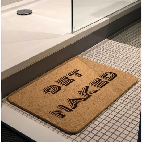 GET NAKED - Personalised Luxury Bath Mat