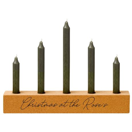 Christmas Cork Candle Holder / 50% OFF